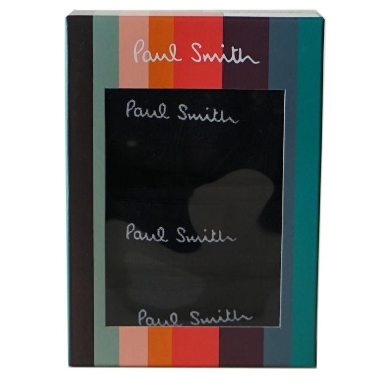ポールスミス Paul Smith メンズ アンダーウェア ボクサーパンツ 3パック ブラック 914C A3PCK 79A