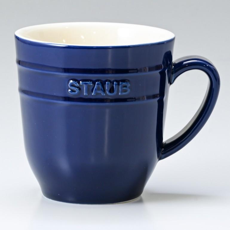 ストウブ マグカップ セラミック 350ml グランブルー 40508 566 0