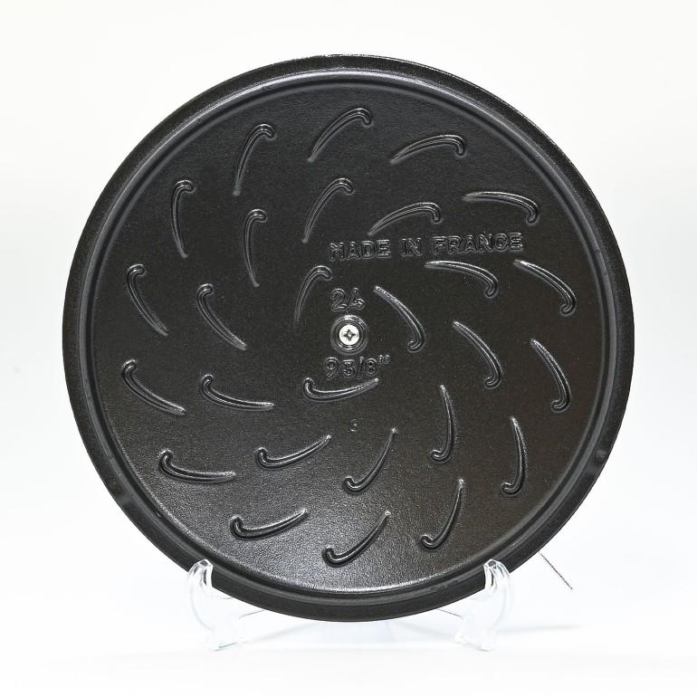 ストウブ ブレイザー 24cm ソテーパン 鋳物 ホーロー 鍋 なべ 調理器具 キッチン用品 ブラック 2.4L 12612425 (40511-473-0)