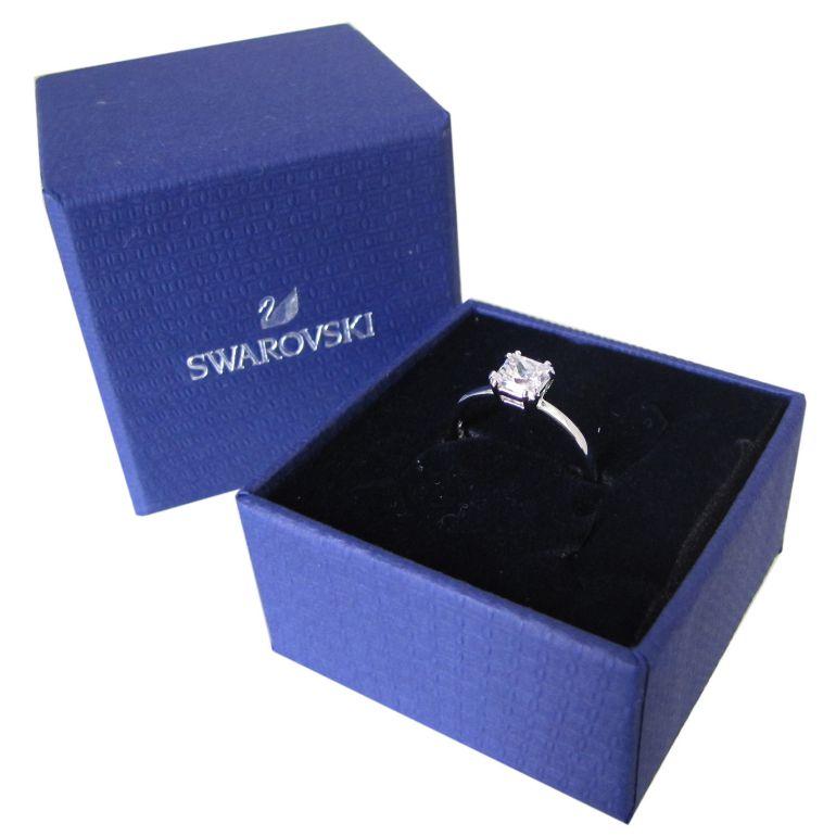 スワロフスキー SWAROVSKI リング レディース 指輪 アトラクト ATTRACT 9号 シルバー 5515727 名入れ可有料