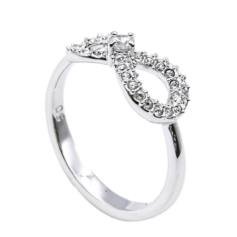 スワロフスキー SWAROVSKI リング レディース 指輪 インフィニティ INFINITY 11号 シルバー 5535404