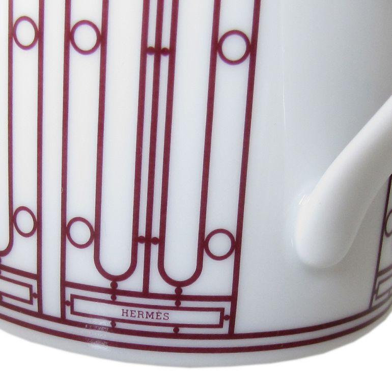 エルメス HERMES マグカップ Hデコ H DECO ROUGE Hデコ アッシュデコ ルージュ 300ml 41031P 名入れ可有料