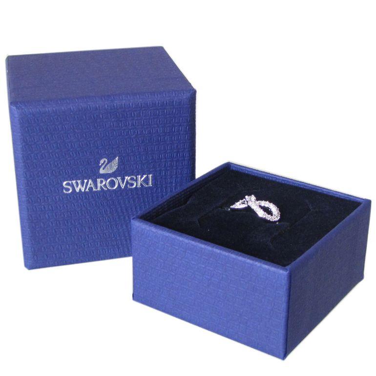 スワロフスキー SWAROVSKI リング レディース 指輪 インフィニティ INFINITY 9号 シルバー 5535410