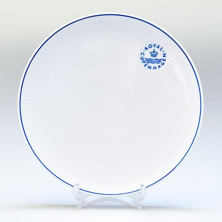 ロイヤルコペンハーゲン ブルーライン クーププレート 23cm 1658733 (1058881) 名入れ可有料