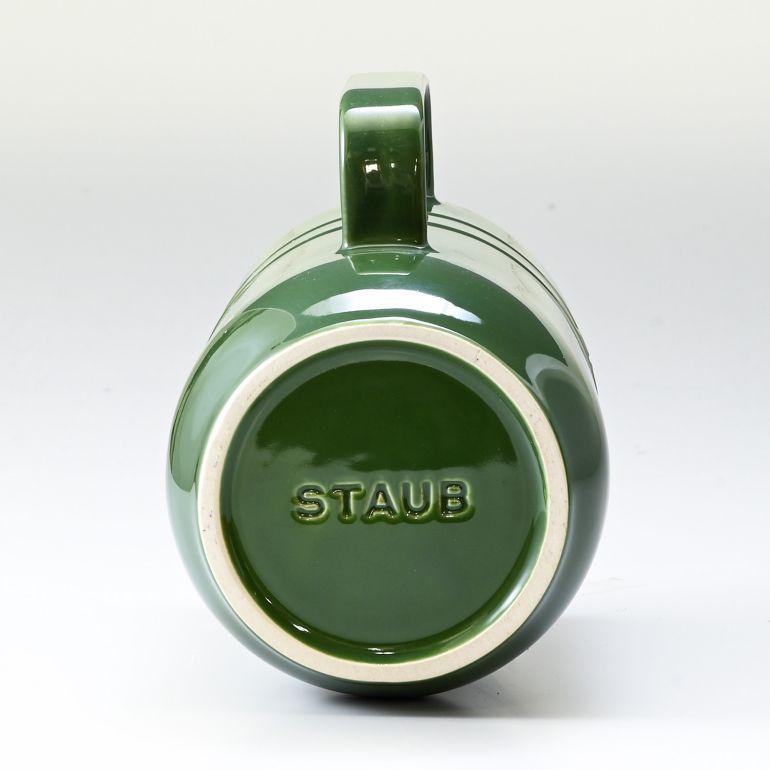 ストウブ ピッチャー セラミック テーブルツール 水差し スペシャルアイテム バジルグリーン 1L 40511-585-0