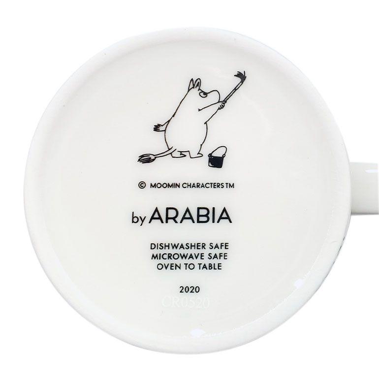 アラビア マグカップ 2020年冬限定 300ml ムーミンコレクション ムーミン谷の冬 スノーブリザード 1055333