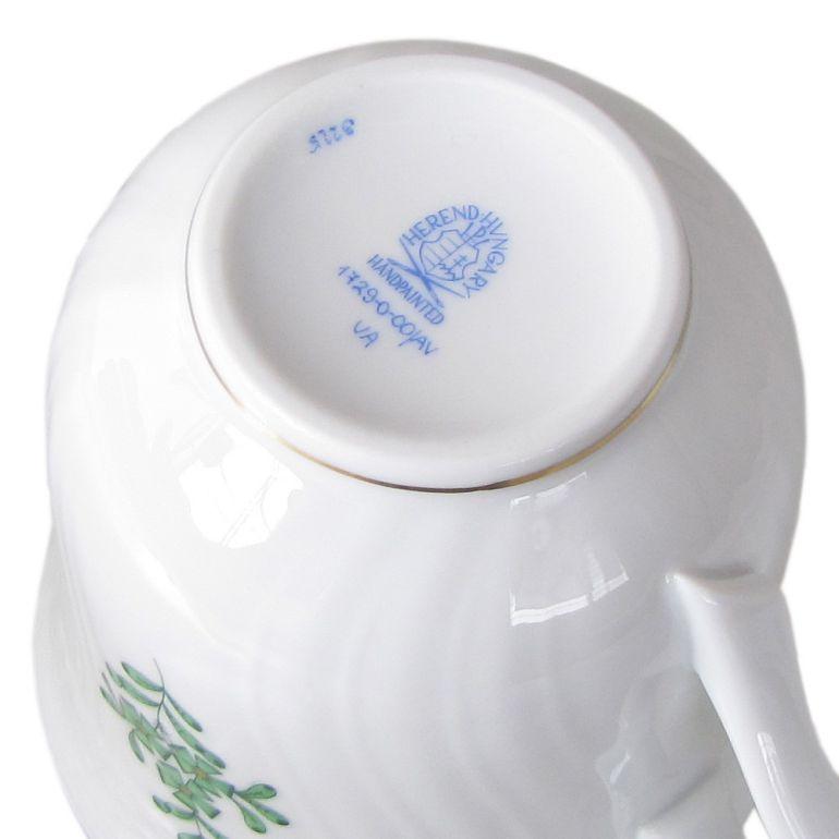 名入れ可有料 ヘレンド マグカップ アポニー・グリーン 250cc 1729000 AV 【01729000-AV】