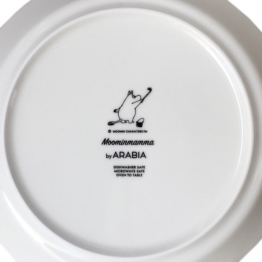 アラビア ARABIA プレート 19.5cm 絵皿 ムーミンコレクション ムーミンママ MOOMINMAMMA トーベ・ヤンソン 1006378