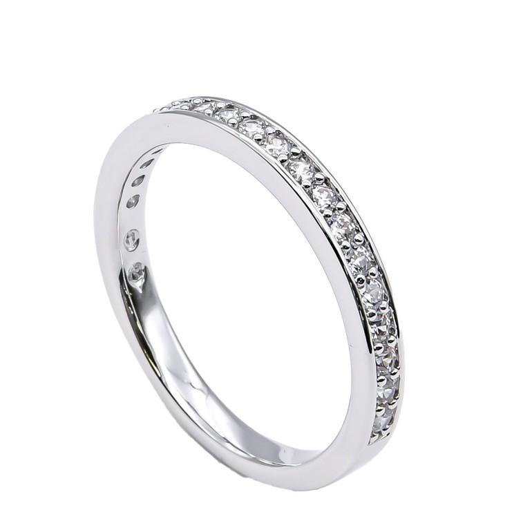 スワロフスキー SWAROVSKI リング レディース 指輪 レア RARE 11号 シルバー 1121066 名入れ可有料