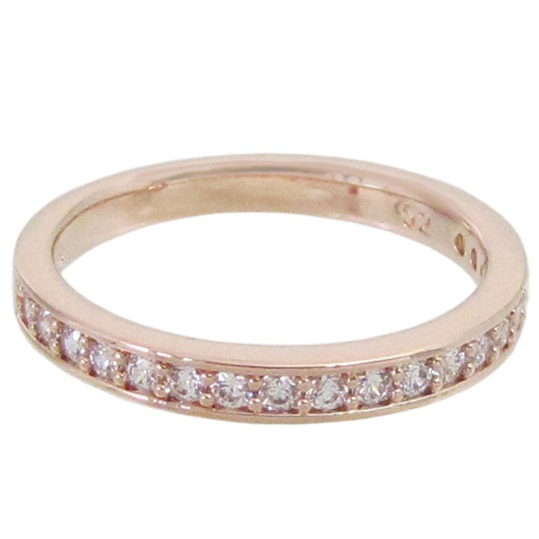 スワロフスキー SWAROVSKI リング レディース 指輪 レア RARE 11号 ローズゴールド 5032899 名入れ可有料