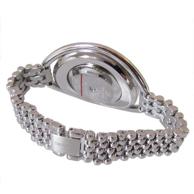スワロフスキー SWAROVSKI 腕時計 レディース Crystalline Oval White シルバー ブレスレットウォッチ 5181008