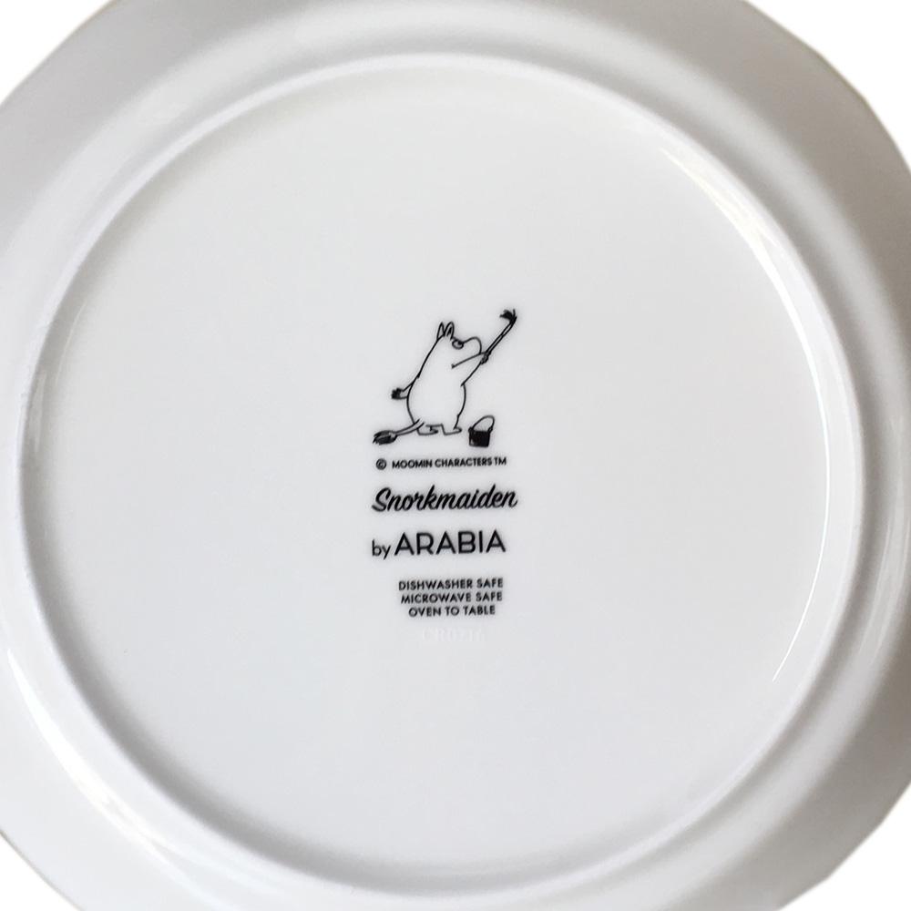 アラビア ARABIA プレート 19.5cm 絵皿 ムーミンコレクション フローレン スノークのおじょうさん SNORKMAIDEN トーベ・ヤンソン 1006281