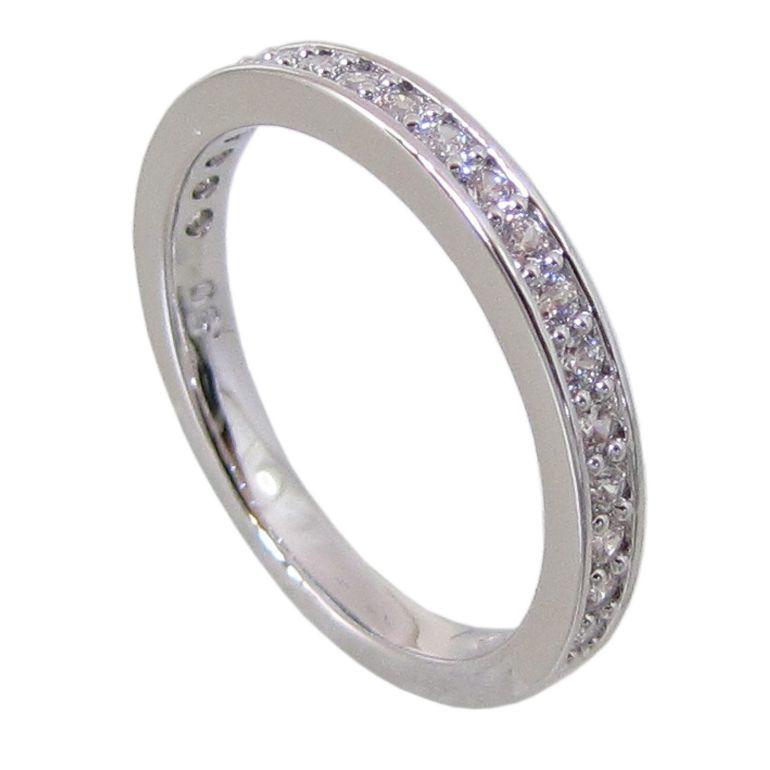 スワロフスキー SWAROVSKI リング レディース 指輪 レア RARE 9号 シルバー 1121065 名入れ可有料