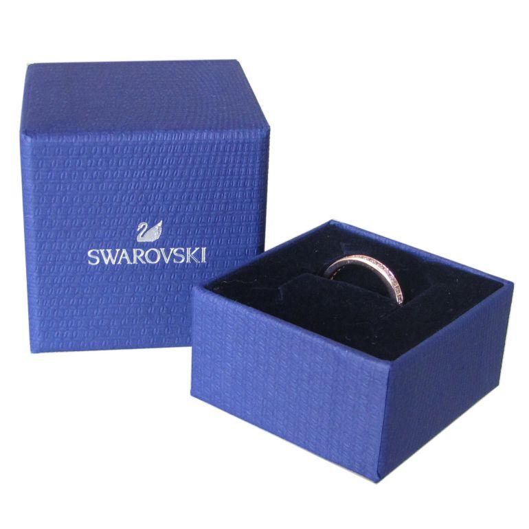 スワロフスキー SWAROVSKI リング レディース 指輪 レア RARE 9号 ローズゴールド 5032898 名入れ可有料