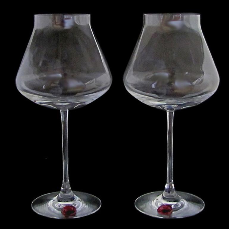 バカラ Baccarat ぺア グラス シャトーバカラ ワイングラス XL 24.5cm シーリングワックス 2806404