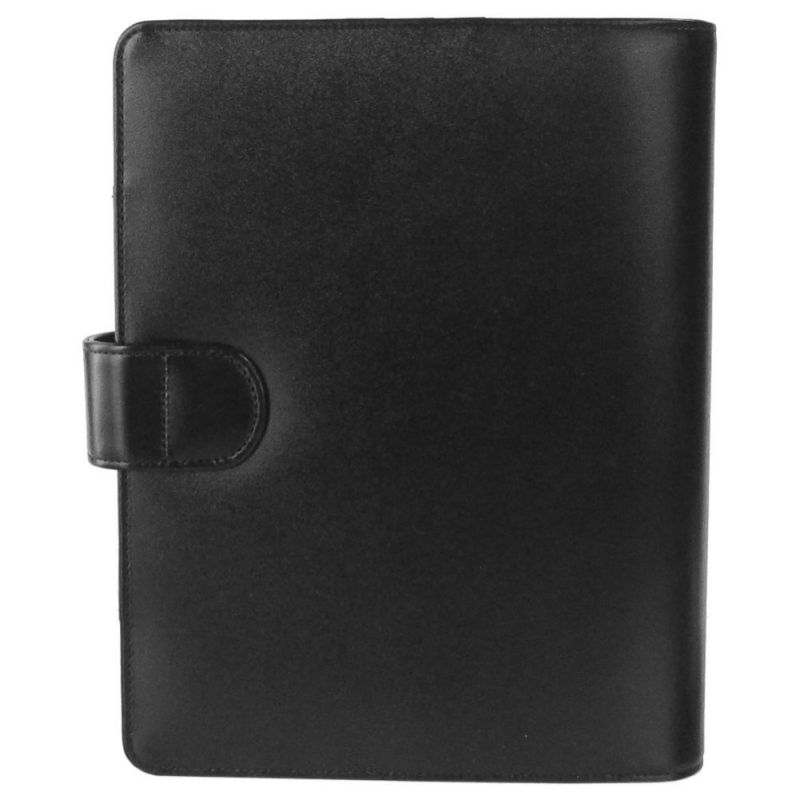 モンブラン 名入れ可無料 システム手帳 バイブルサイズ ブラック メンズ レザー 14257