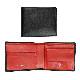 エッティンガー 二つ折り財布 メンズ ロイヤルコレクション バイカラー ST141JR RED ブラック×レッド 名入れ可有料