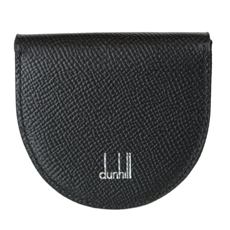 ダンヒル dunhill コインケース メンズ 小銭入れ カドガン ブラック 18F2010CA001 名入れ可有料