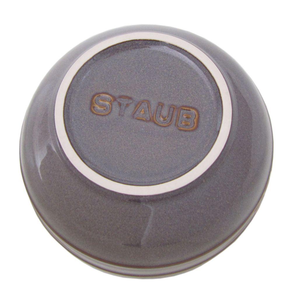ストウブ セラミック ラウンド ボウル 14cm ヴィンテージカラーシリーズ アンティークグレー 40511 862 0