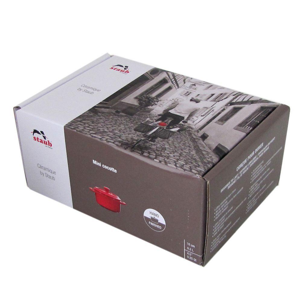 ストウブ 鍋 セラミック 10cm ミニココット ラウンド ヴィンテージカラーシリーズ アイボリー 40511 997 0