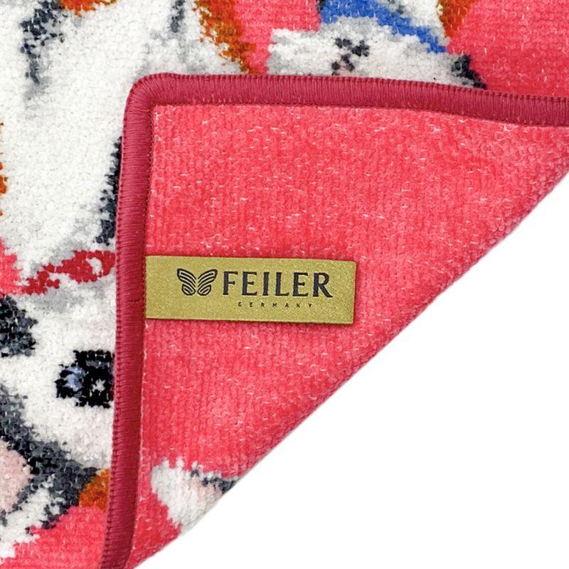 純正ビニール袋付属 日本未発売 フェイラー ハンカチ ハンドタオル タオルハンカチ 25cm 尾曲がり猫 鍵猫 ネコポス限定 送料無料