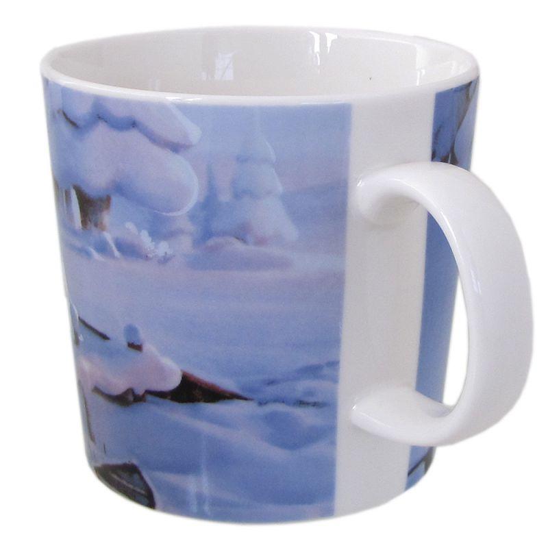 アラビア マグカップ ARABIA 300ml ムーミンバレー 真冬のご先祖さま 1028331