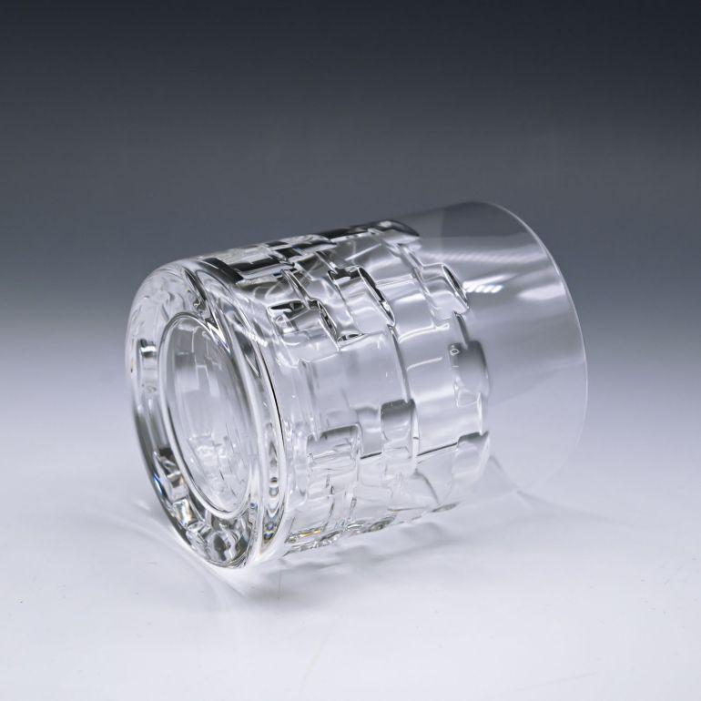 名入れ対応 エルメス HERMES グラス 新品 ラージ タンブラー オールドファッション ロックグラス ペア アダージュ ADAGE クリスタル 010227P2