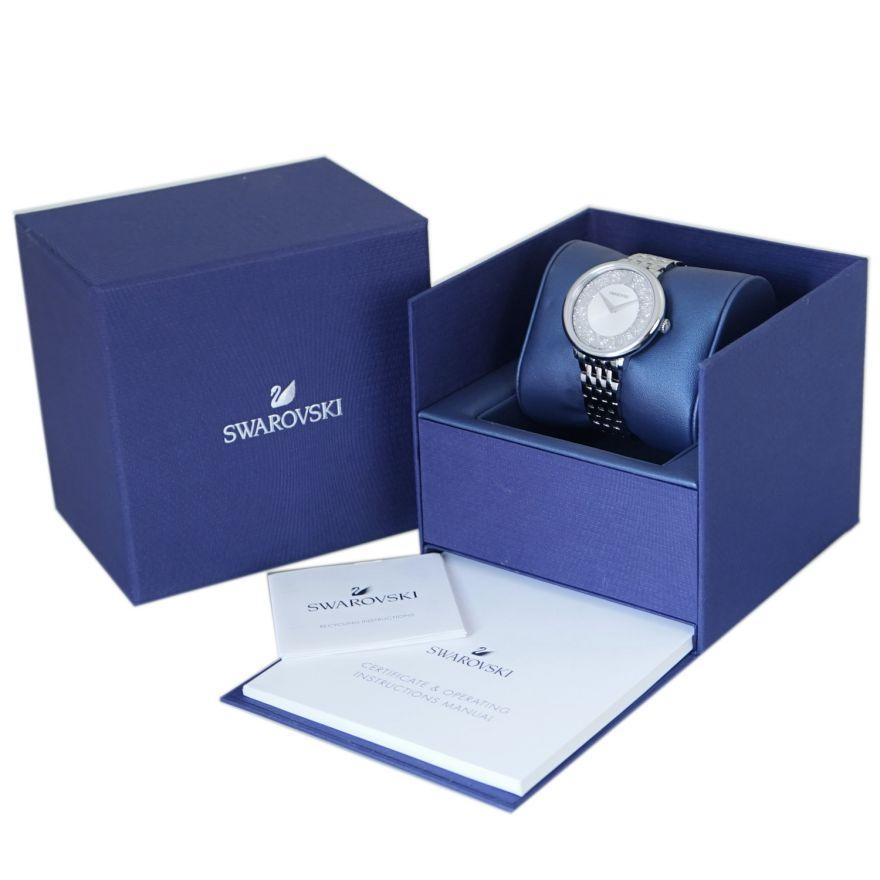 スワロフスキー SWAROVSKI 腕時計 CRYSTALLINE CHIC ウォッチ レディース シルバー 5544583