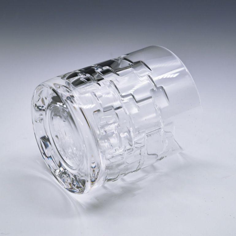 名入れ対応 エルメス HERMES グラス 新品 スモール タンブラー オールドファッション ロックグラス ペア ゴブレット アダージュ ADAGE クリスタル 010231P2