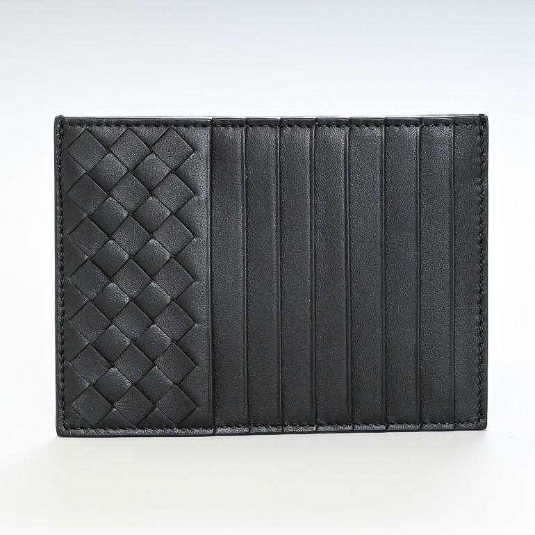 ボッテガヴェネタ BOTTEGA VENETA スマートウォレット カードケース コインケース ブラック 162156 V001N 1000 フラグメントケース キャッシュレス