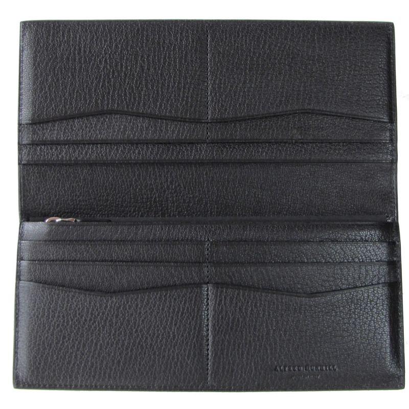 【名入れ可有料】 ダンヒル dunhill 長財布 メンズ デューク ファイン LTR ゴートスキンレザー ブラック 19R2101GS001