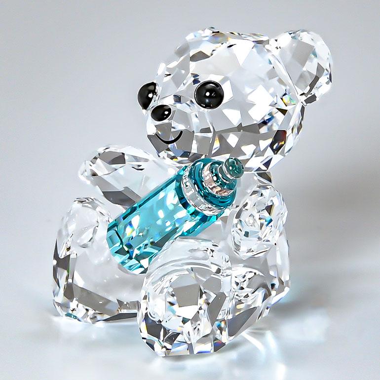 スワロフスキー SWAROVSKI クリスタルフィギュア My Little Kris Bear ベビー オブジェ 置物 インテリア 5557541