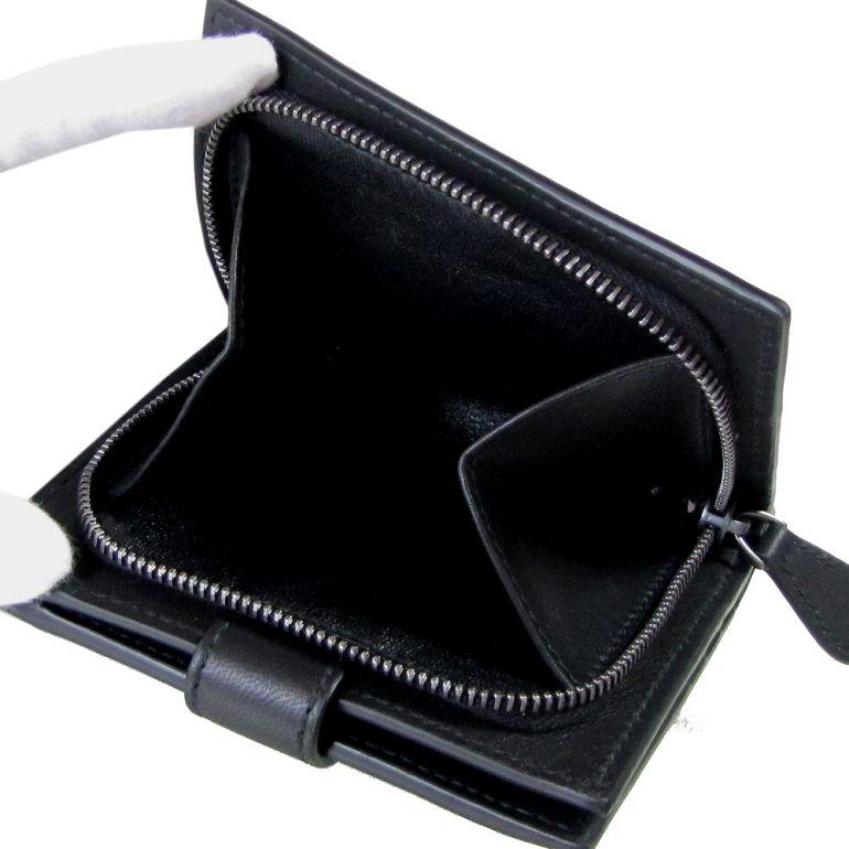 ボッテガヴェネタ 二つ折り財布 メンズ イントレチャート ウォレット ネロ ブラック 121059 V001N 1000