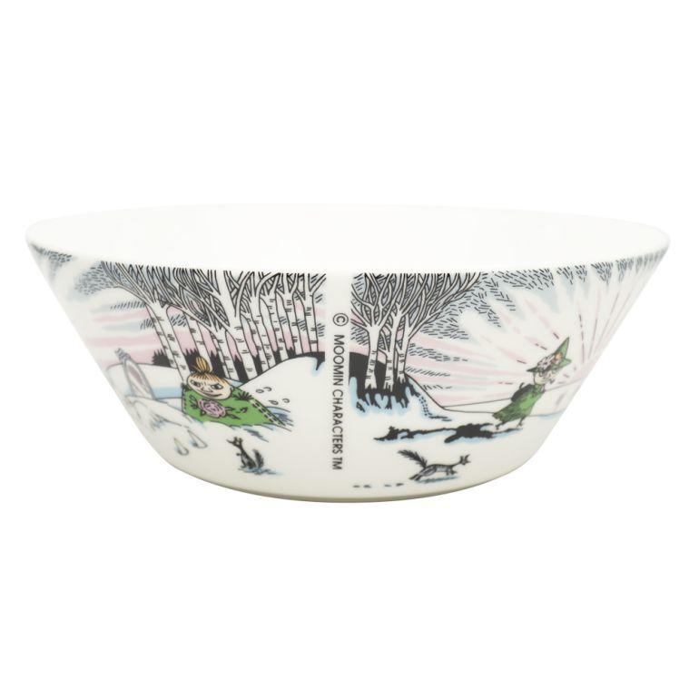 アラビア ARABIA 2017 冬限定 ボウル 絵皿 深皿 15cm ムーミンコレクション ムーミン スプリング ウィンター 1024592