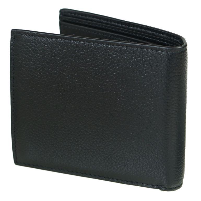 バレンシアガ BALENCIAGA 二つ折り財布 メンズ レディース ミニ財布 ミニウォレット キャッシュ CASH ブラック 594315 1IZI3 1090