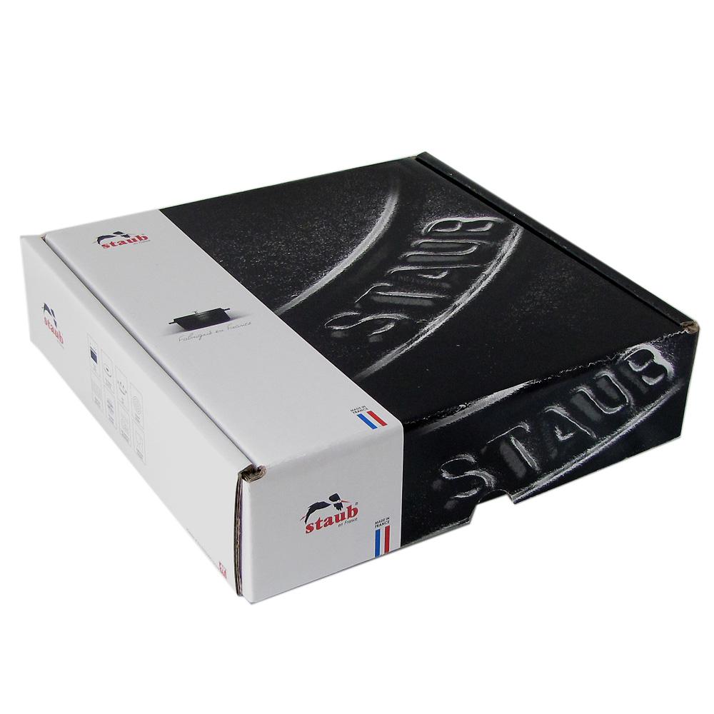 ストウブ フライパン ラウンド スタッカブルディッシュ 20cm グラファイトグレー 1302018 (40509-557-0) ホーロー 鋳物 グラタンプレート