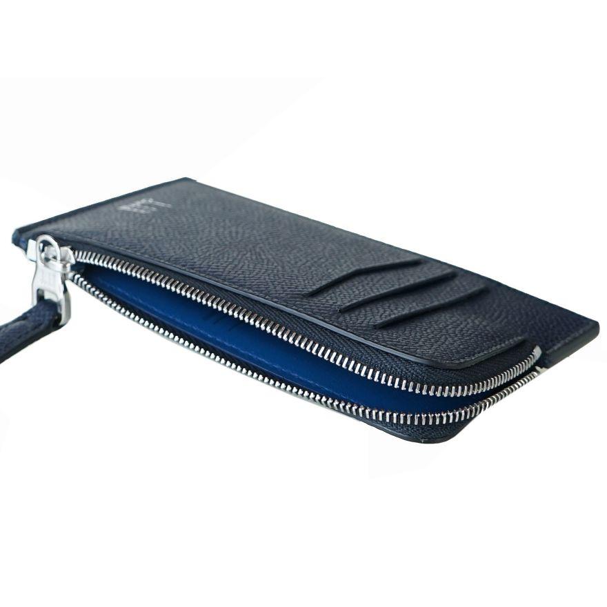 【名入れ可有料】 ダンヒル dunhill スマートウォレット カードケース メンズ コインケース フラグメントケース カドガン ネイビー 18F210ZCA410