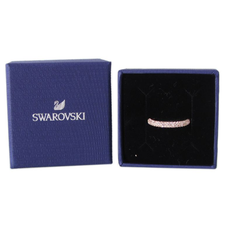 スワロフスキー リング レディース 指輪 ストーンミニリング STONE MINI 9号 ローズゴールド 5412022