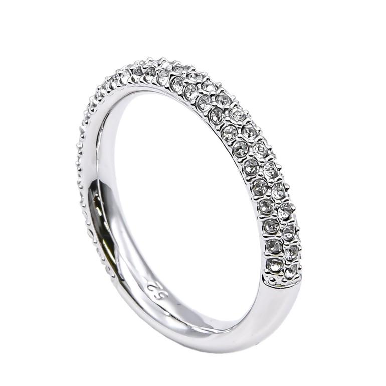 スワロフスキー リング レディース 指輪 ストーンミニリング STONE MINI 9号 シルバー 5412047