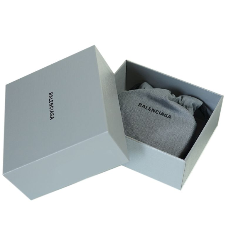 バレンシアガ BALENCIAGA 3つ折り財布 レディース ミニ財布 ミニウォレット スマートウォレット キャッシュ CASH ブラック 593813 1IZIM 1090