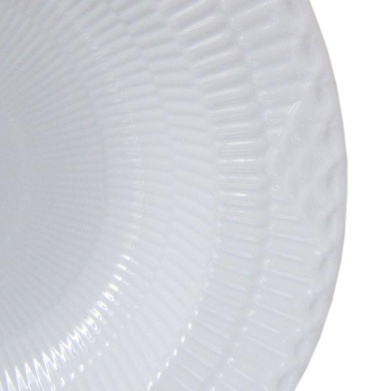 ロイヤルコペンハーゲン ホワイトフルーテッド ハーフレース 深皿 パスタプレート パスタ皿 ディーププレート 21cm 1128604 名入れ可有料 ※名入れ別売り 1017291 1017291