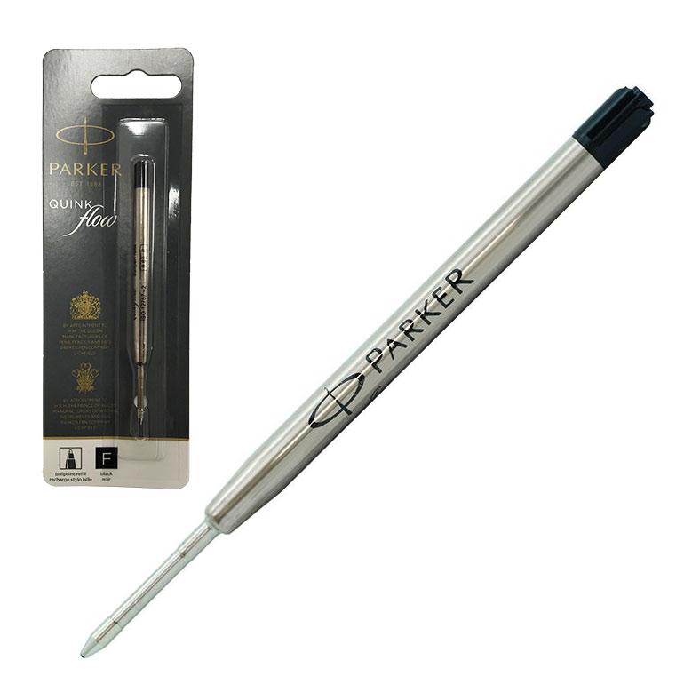 メール便可275円 パーカー ボールペン 替芯 クインクフロー F 細字 黒 ブラック リフィル 替え芯