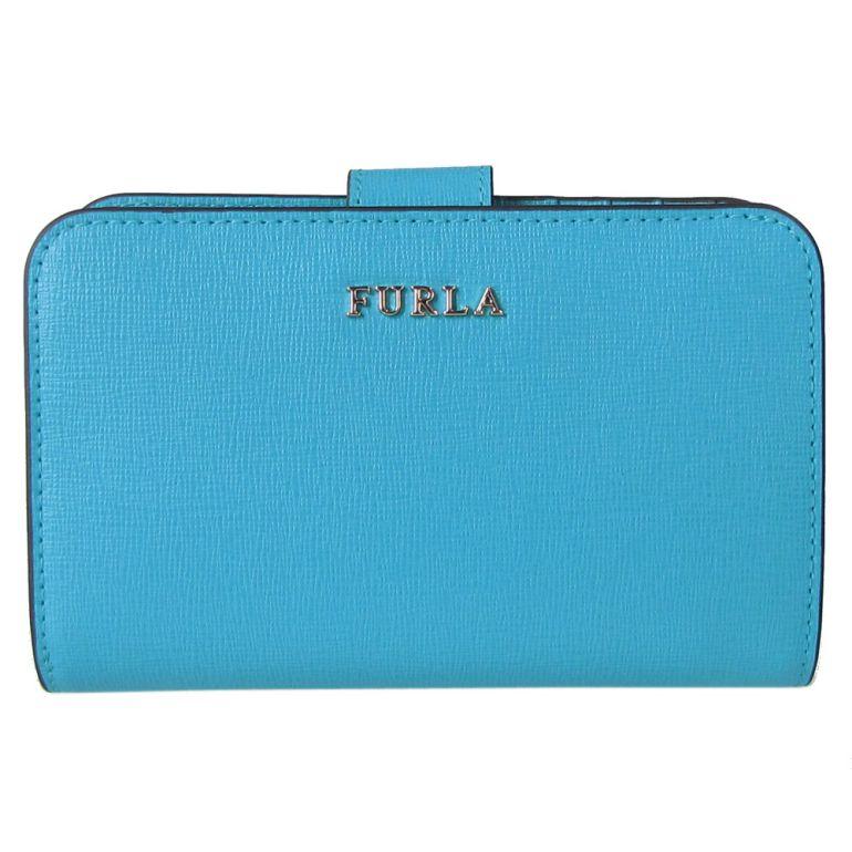 フルラ FURLA バビロン ジップアラウンドM 2つ折り財布 コンパクトウォレット 1013771 TURCHESE ターコイズ PR85 B30 57