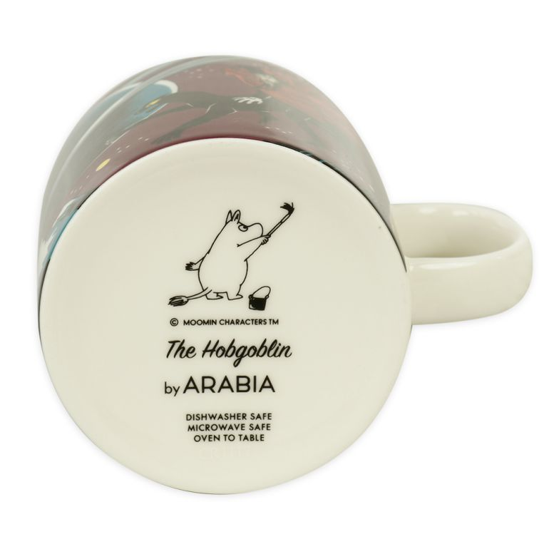 アラビア マグカップ 300ml ムーミンコレクション 飛行おに Hobgoblin purple 1025544