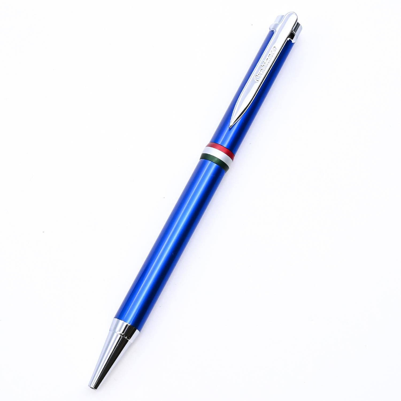 名入れ無料 オロビアンコ ボールペン ラ・スクリヴェリア 新モデル ボールペン ブルー×シルバー CT 単色