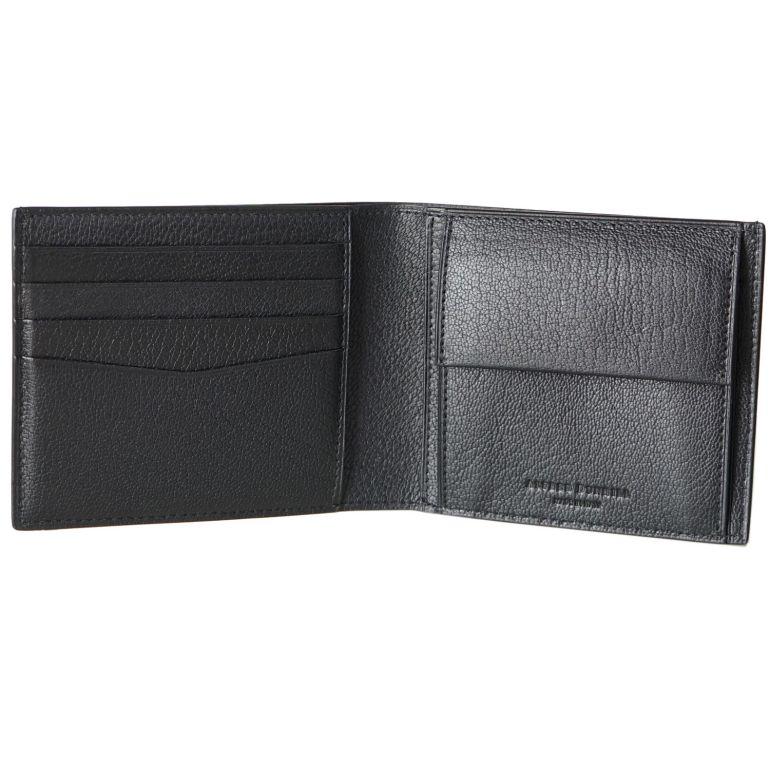 【名入れ可有料】 ダンヒル dunhill 二つ折り財布 メンズ デューク ファインレザー ブラック 19F2320GS001R
