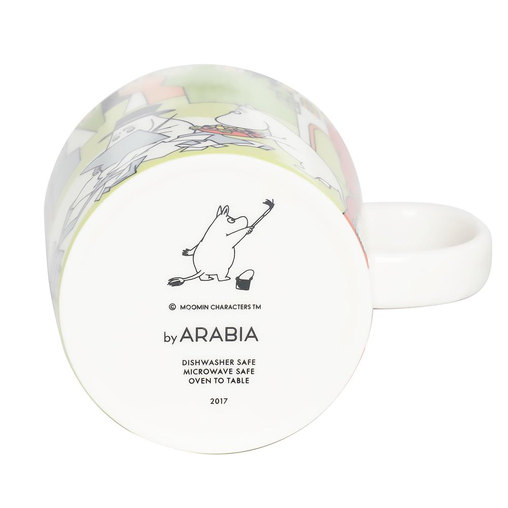 アラビア ARABIA 夏限定 マグカップ 300ml ムーミンコレクション ムーミン サマー 2017 ムーミン谷の夏まつり トーベ・ヤンソン 1023452