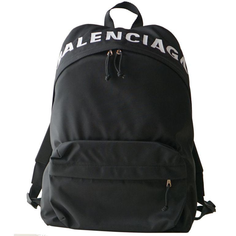 バレンシアガ BALENCIAGA リュック メンズ レディース バックパック ホイール ノアール(ブラック)/ホワイト 507460 H853X 1060