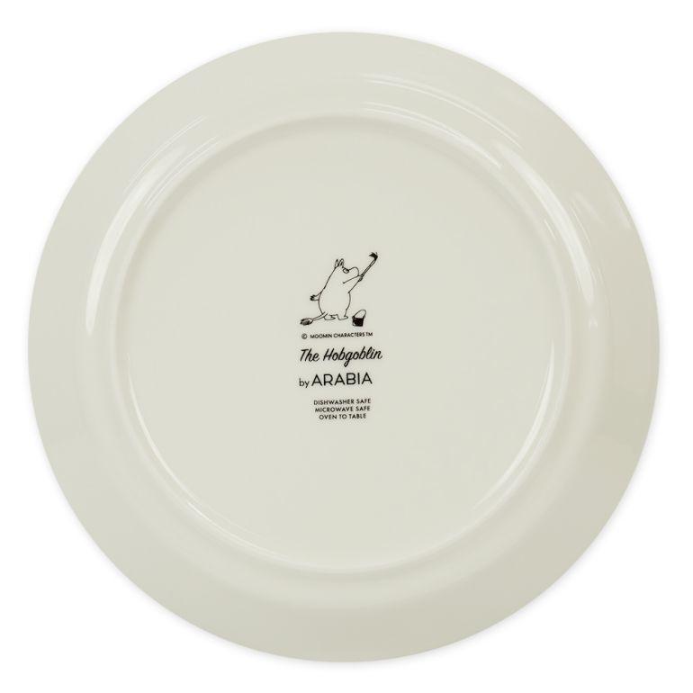 アラビア プレート 絵皿 19.5cm ムーミンコレクション 飛行おに Hobgoblin purple 1025546
