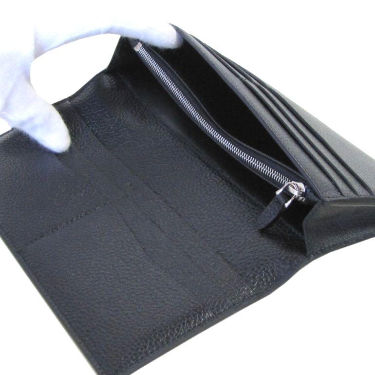 【名入れ可有料】 ダンヒル dunhill 長財布 メンズ ボストン レザー 牛革 BOSTON ブラック L2A310A
